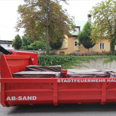 Abrollcontainer SAND